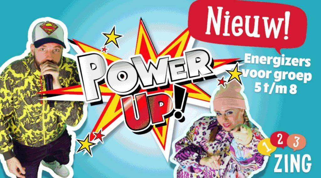 Nieuw Power Up Energizers met Kirsten en Rudebeats voor groep 5 tot en met 8