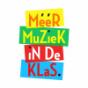 Gekleurd logo in lagen van Meer Muziek In De Klas