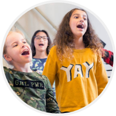 3 zingende kinderen