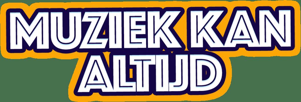 Het logo van de videoclip Muziek Kan Altijd het Kindermuziekweeklied