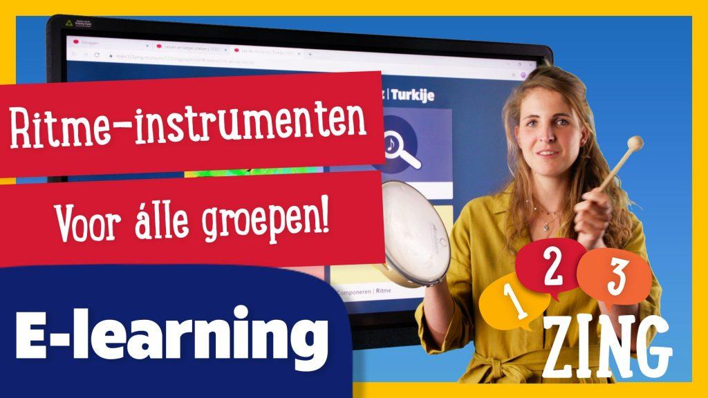 Thumbnail e-learning ritme-instrumenten 123zing