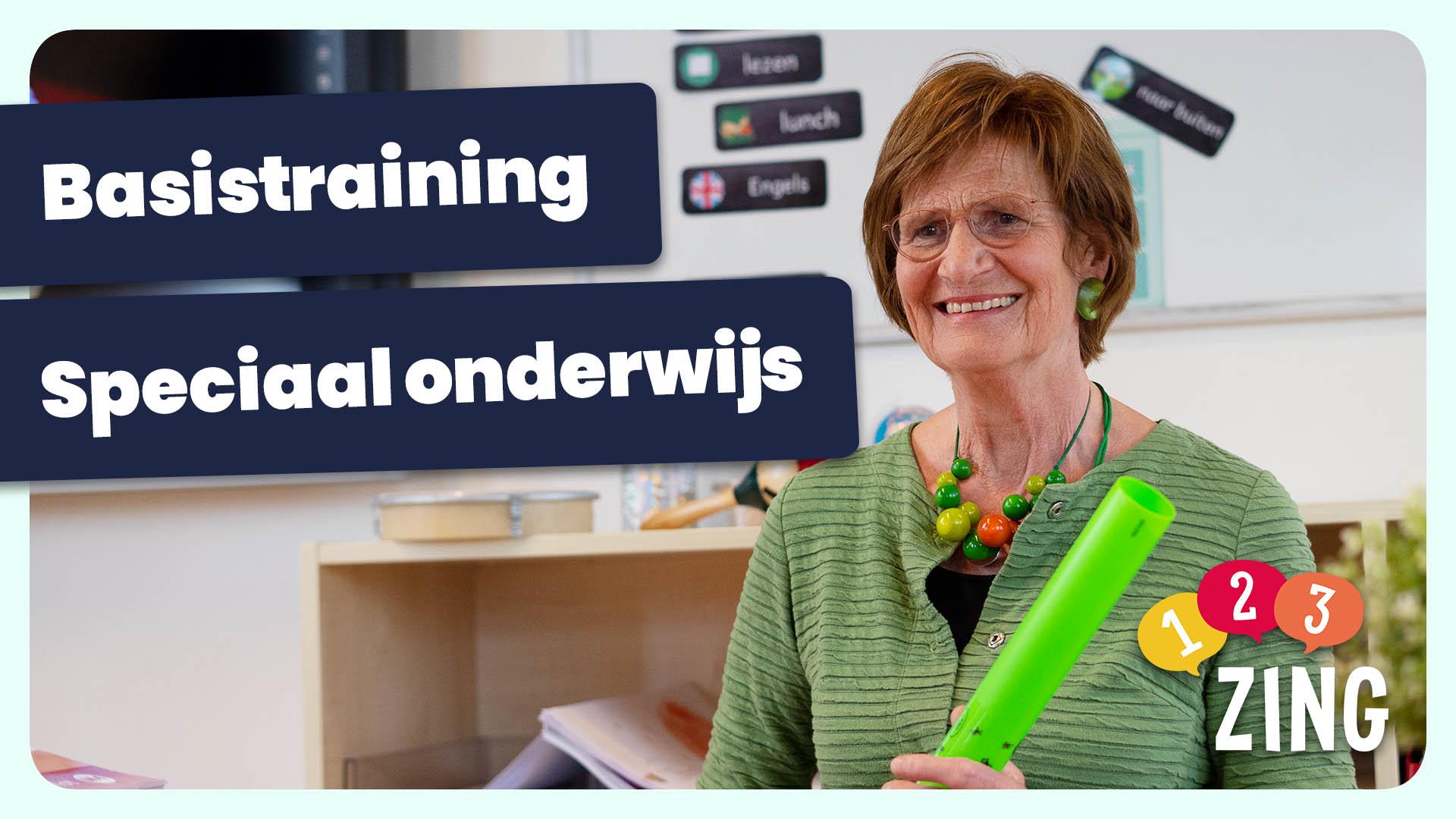 thumbnail van individuele training over basistraining speciaal onderwijs